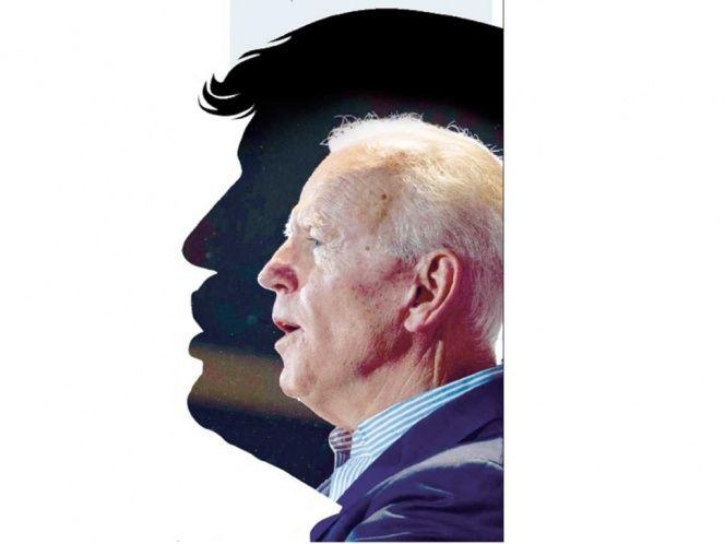 Biden desafía a Trump a un debate online