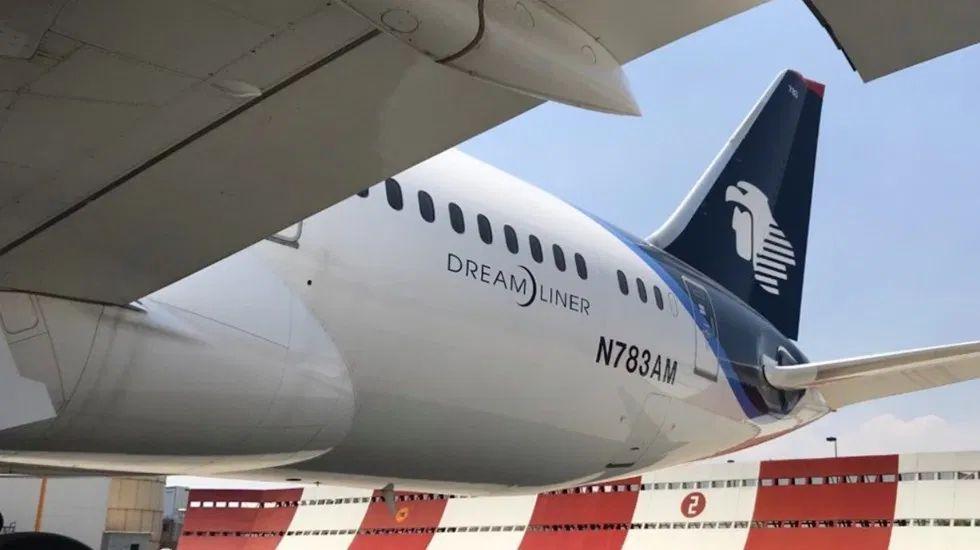 Aeroméxico realiza histórico puente aéreo para traer insumos por COVID-19