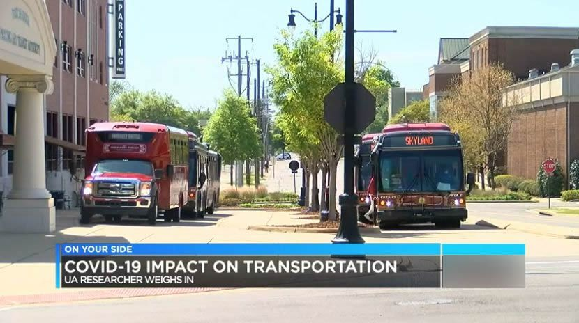 covid 19 impacta transporte en Alabama