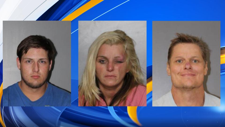 Parada de tráfico en el condado de Blount lleva a 3 arrestos