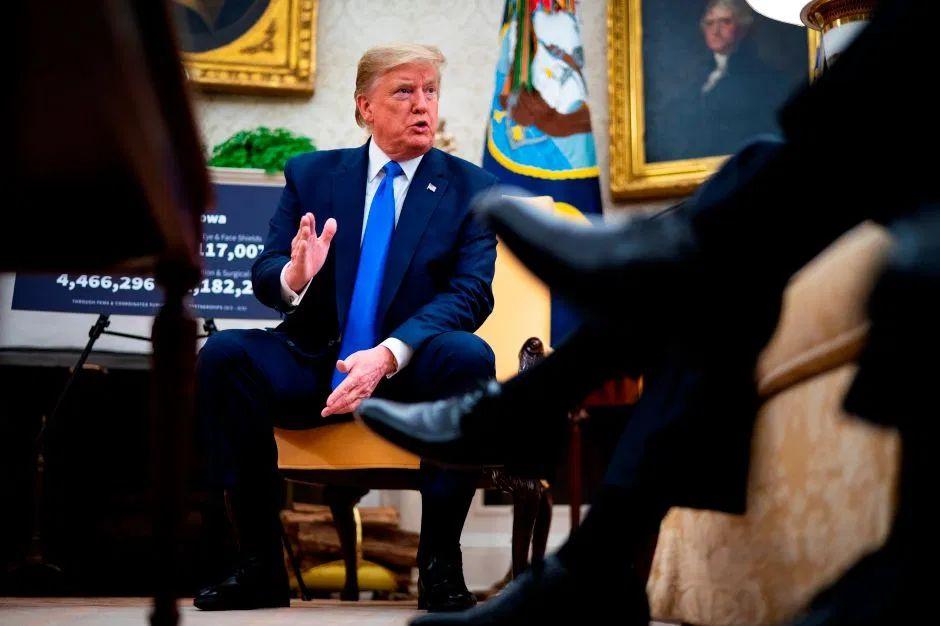 """Trump reconoce que es """"posible"""" que aumenten las muertes. Aún así, insiste en """"abrir el país"""""""