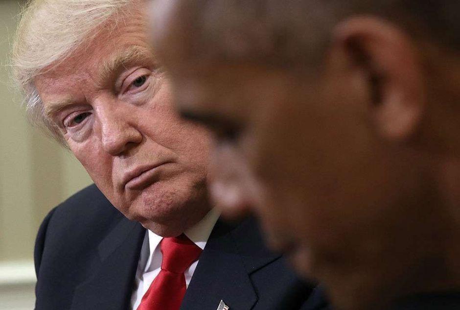 """Escala la confrontación entre Trump y Obama: El presidente llama """"incompetente"""" a su antecesor"""