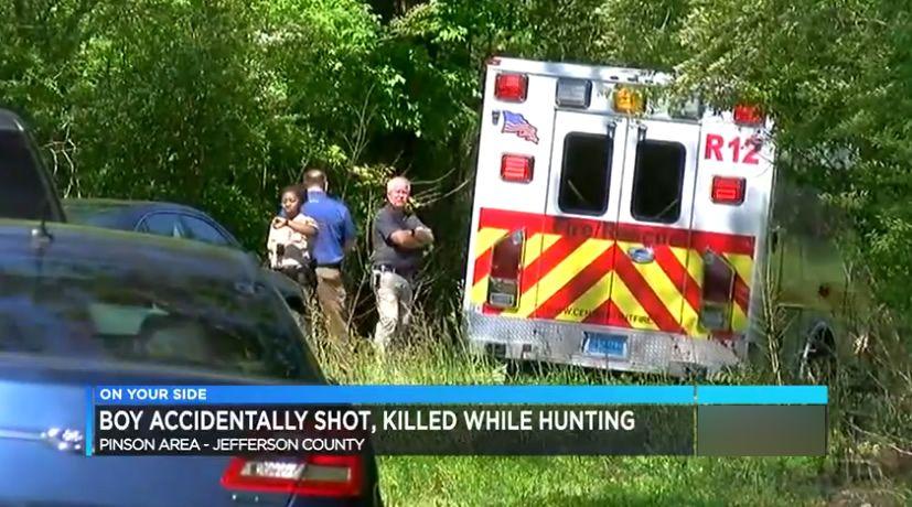 Un niño de 11 años muere, después de un disparo accidental durante una cacería en el Condado de Jefferson