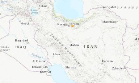 terremoto alrededores capital iran teheran