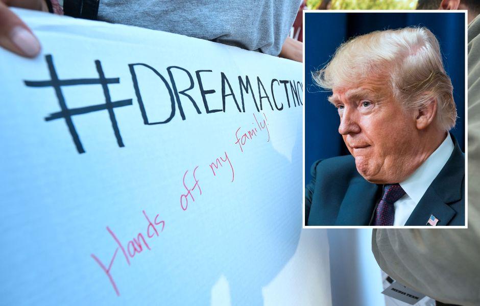 Trump queria terminar DACA