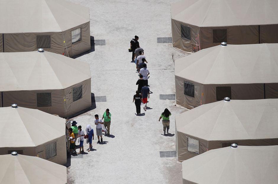 centro detencion ninos inmigrantes