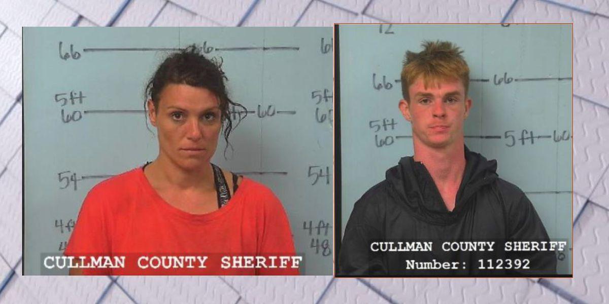 2 personas arrestadas por robo en el Condado de Cullman