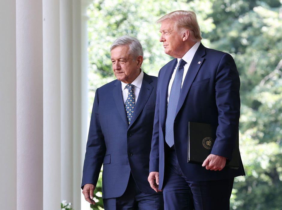 Lopez Obrador y Donald Trump