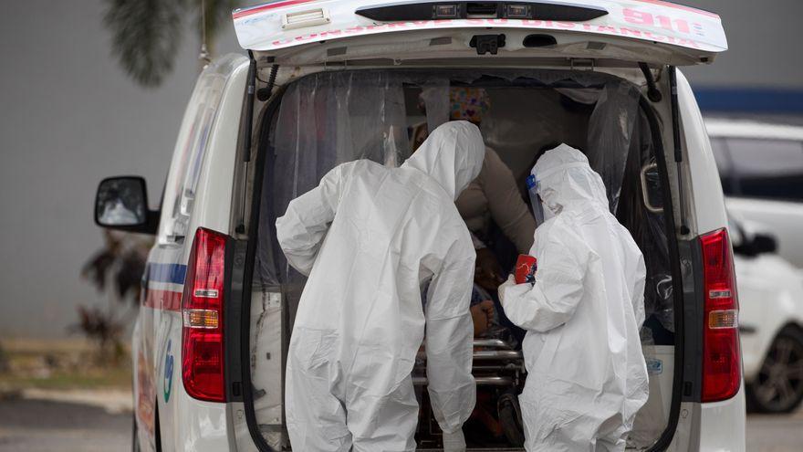 La capital dominicana se queda sin camas para pacientes de coronavirus