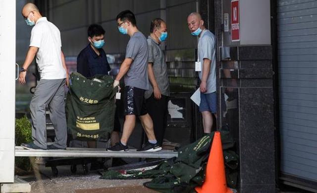 """El consulado chino en Houston hace las maletas entre ecos de """"Guerra Fría"""""""