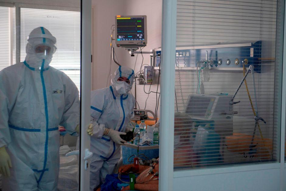 hospitalizaciones en California