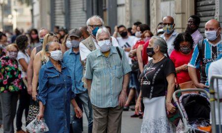 infectados de coronavirus en Brasil