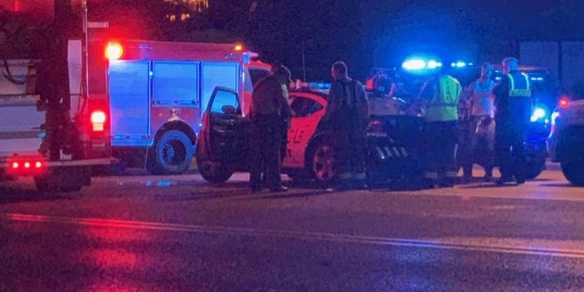 Oficial de Tarrant involucrado en accidente, el jueves por la mañana