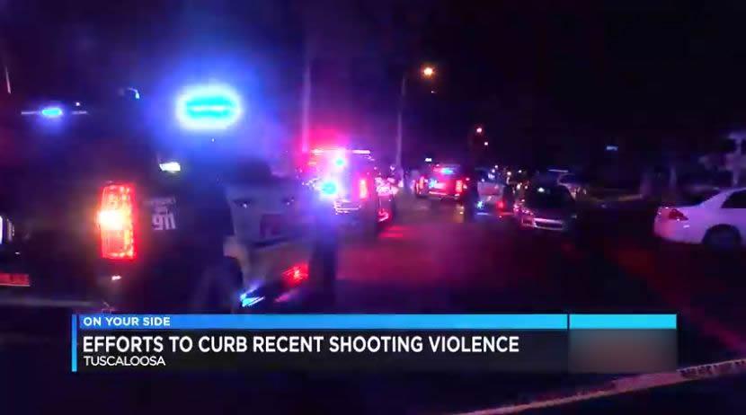 tiroteo en Tuscaloosa