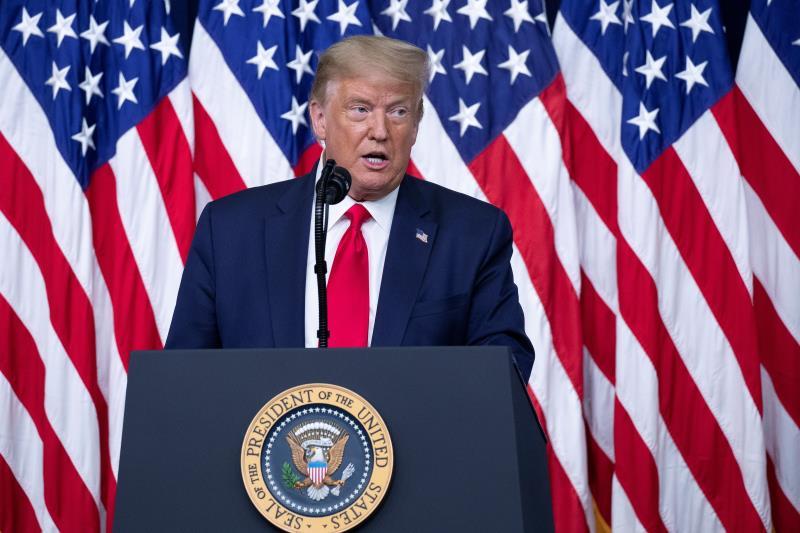 Trump sugiere la idea inédita de un retraso electoral en EE.UU.