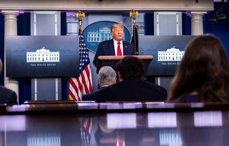 Trump rueda de prensa casa blanca