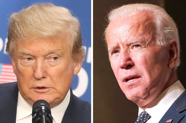 Biden Vs Trump Umfrage