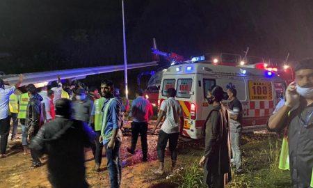 accidente de vuelo de repatriacion India