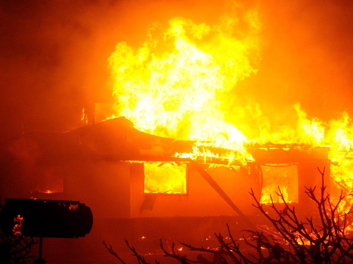 fuegos activos en California
