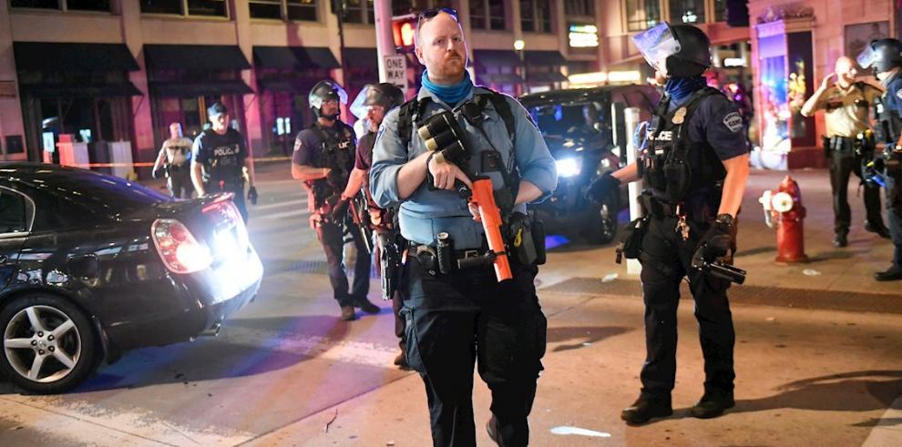 protestas raciales en Oakland
