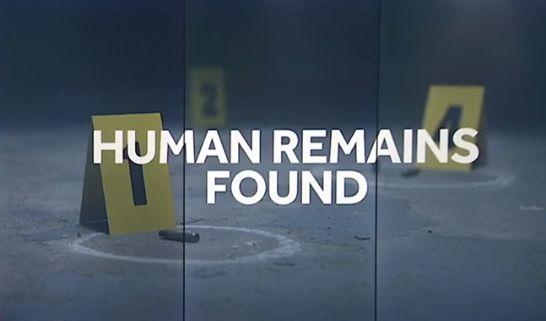 restos humanos encontrados
