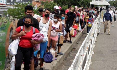 venezolanos retornan a su pais