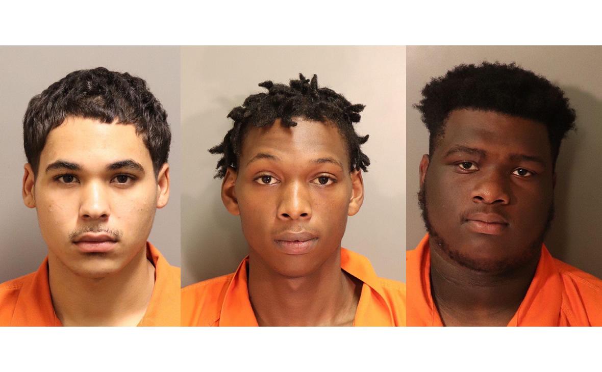 Tres hombres arrestados por dos robos en la Universidad de Auburn en Montgomery