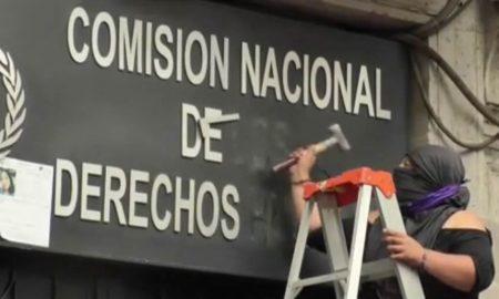 asalto a comision de derechos humanos en mexico