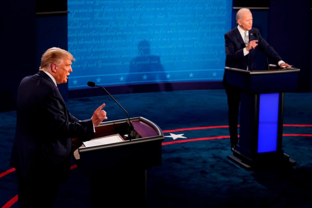 debate Trump Biden