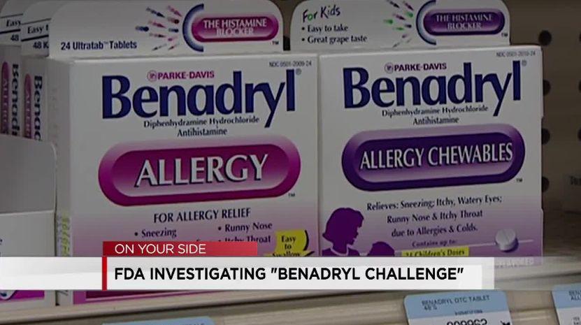 El 'Desafío Benadryl' lleva a los adolescentes al hospital