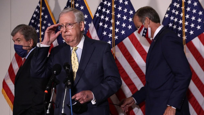 El nuevo paquete de ayudas republicano fracasa en avanzar en el Senado ante el rechazo demócrata