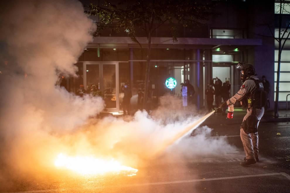 disturbios en Louisville