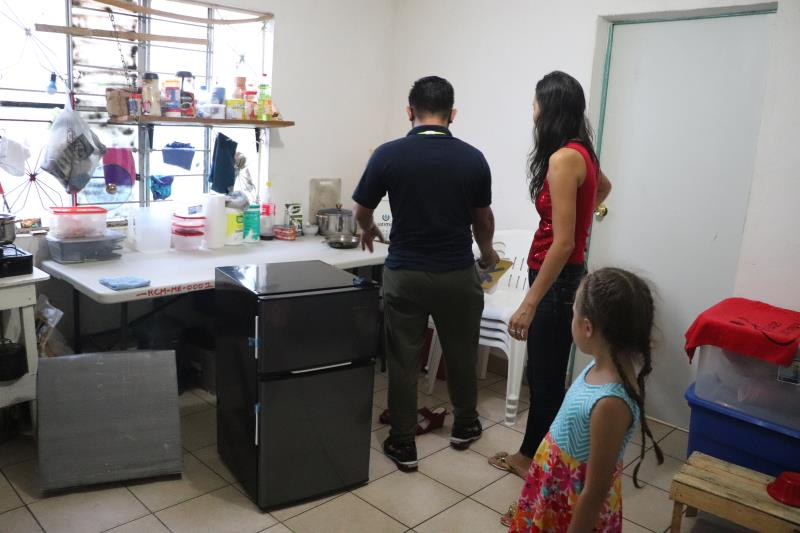 familia de migrantes