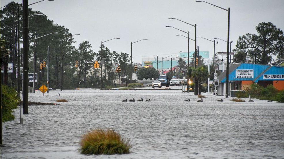 gulf shores inundado