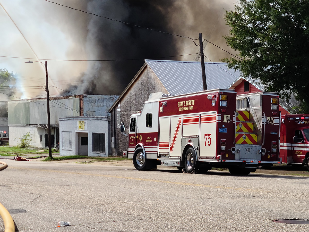 incendio en Highland Avenue en Montgomery