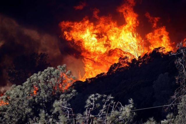 incendios en California 1
