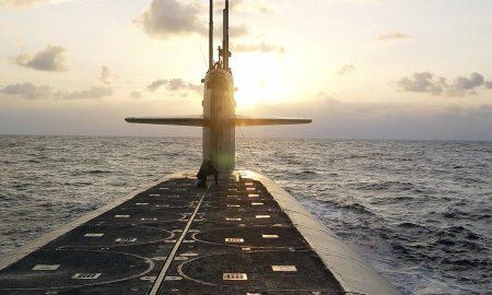 misil balistico submarino