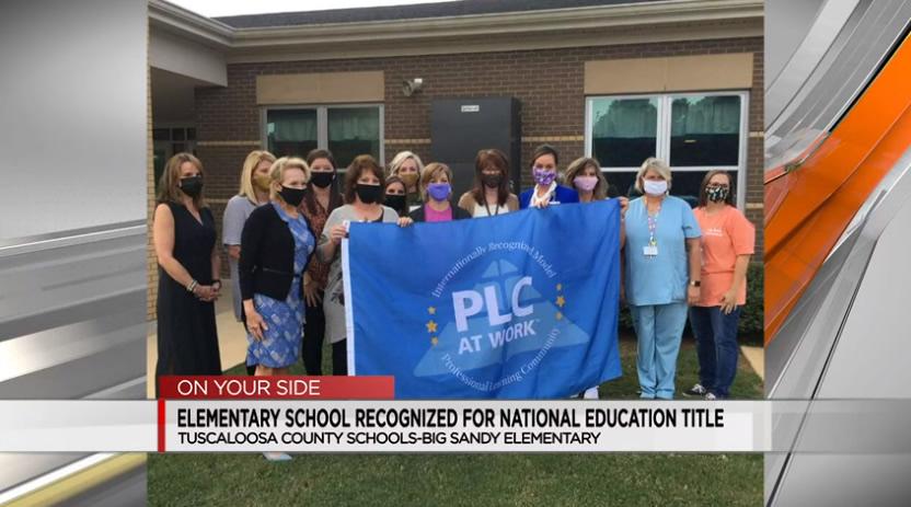 Escuela primaria del condado de Tuscaloosa, reconocida con premio nacional de educación