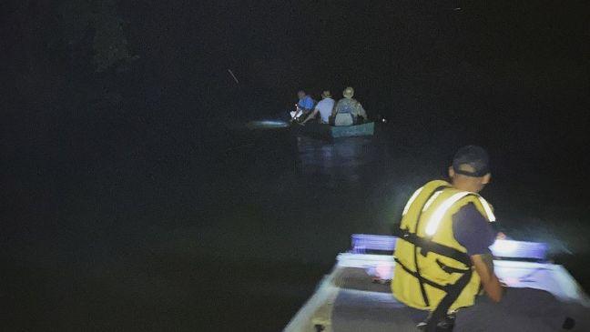 Tres rescatados del río Locust Fork después de ser reportados como desaparecidos