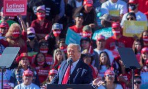 Trump compite con Kamala Harris por el voto latino en la crucial Arizona