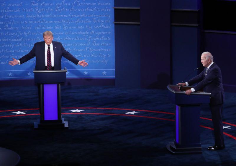 Trump y Biden 1