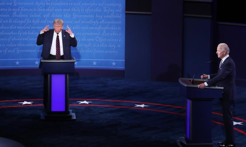 "Trump llama a Kamala Harris ""monstruo"" tras un debate sin claro vencedor"