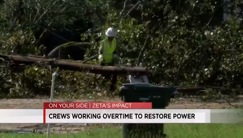 alabama power continua trabajando para normalizar electricidad