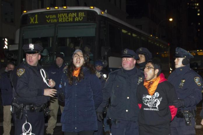 arresto de 54 inmigrantes