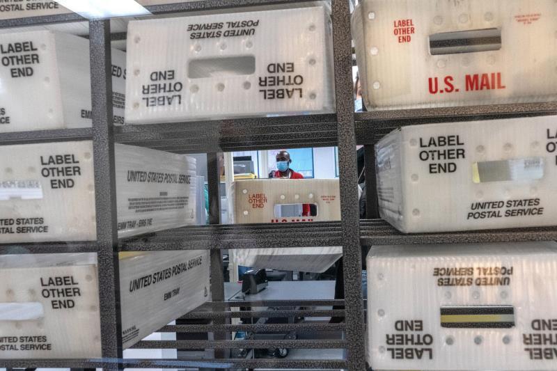 cajas del Servicio Postal de EEUU