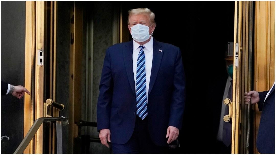 """Trump saldrá este lunes del hospital, aunque """"no está fuera de peligro"""""""