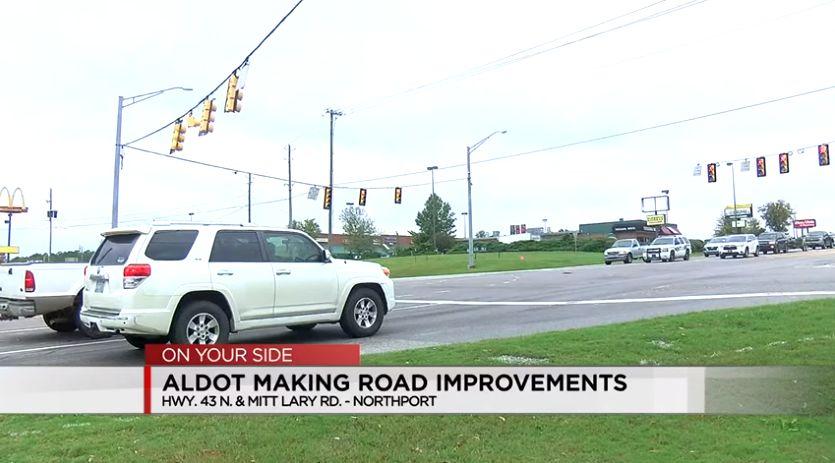 Mejoras de seguridad llegando a la intersección de Northport