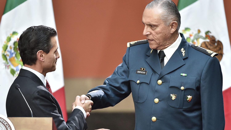 El general Salvador Cienfuegos pide tiempo al juez para negociar con la Fiscalía de Estados Unidos