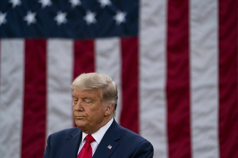Donald Trump derrotado