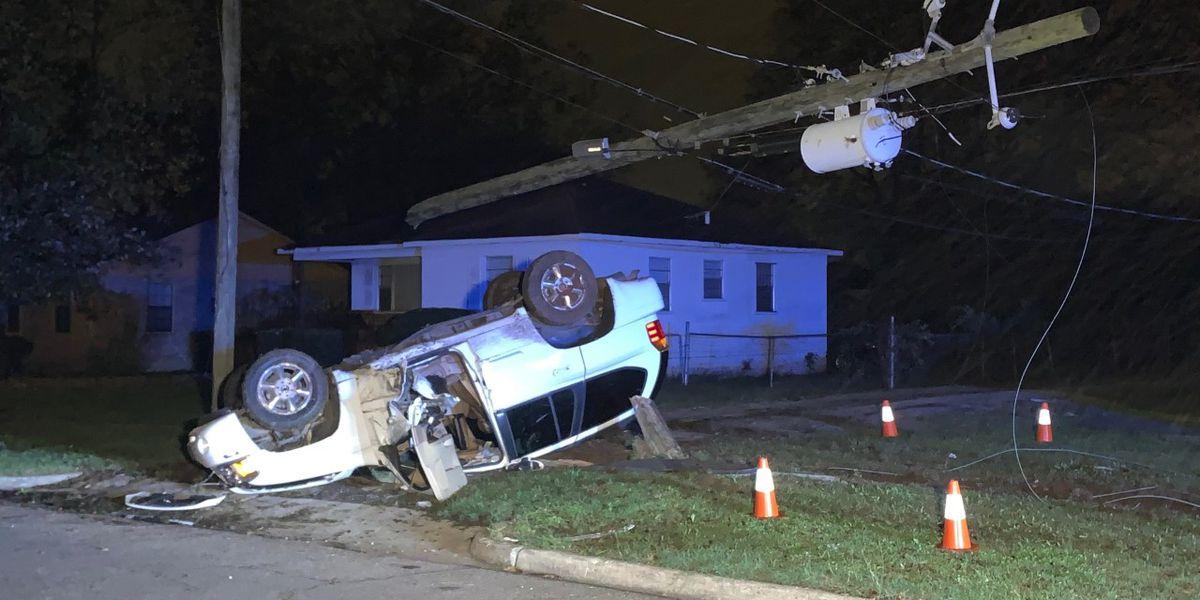 Al menos 1 persona resultó herida durante un accidente nocturno en Birmingham